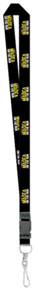 Tyler Perry's -  Madea On The Run Keychain / Lanyard-Black