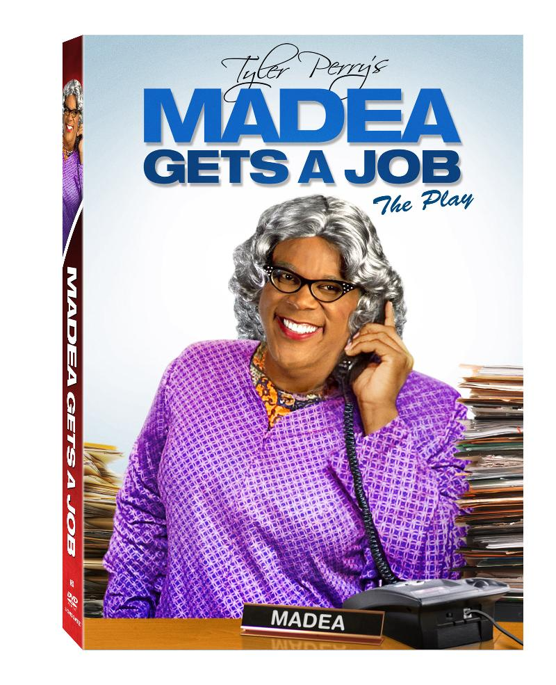 Tyler Perry's - Madea Gets A Job - The Play DVD