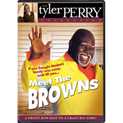 5)Tyler Perry's - Meet The Browns - Play DVD