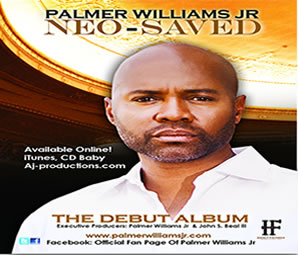 Palmer Williams Jr. - NEO-SAVED CD