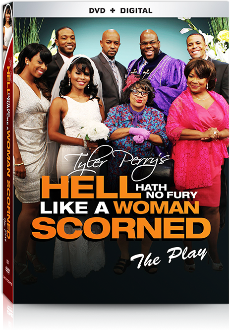 Tyler Perry's - Hell Hath No Fury Like A Woman Scorned DVD Play