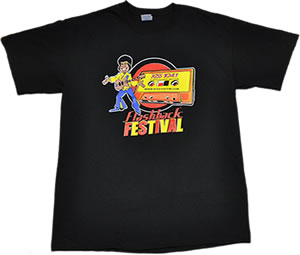 KISS 104.1 Flashback Festival T-shirt 2010 ATL