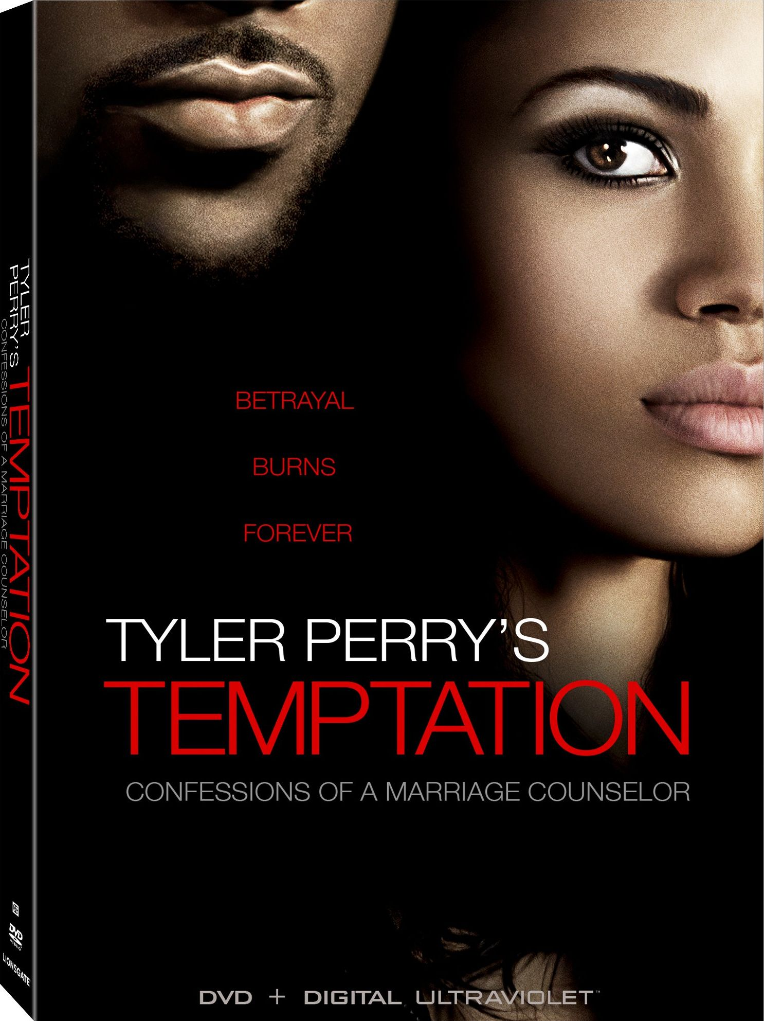 Tyler Perry's - Temptation Movie DVD